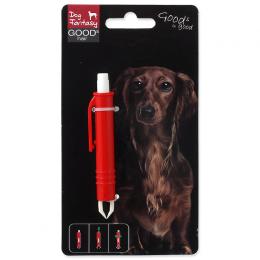Dog fantasy pinzeta na vyberanie kliešťov plastová 9 cm
