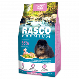 RASCO dog puppy junior small 1kg