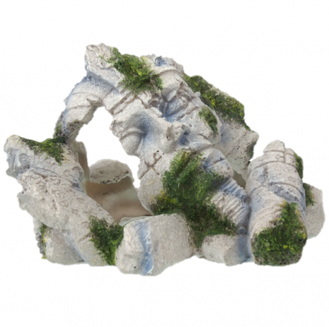 AEX Dekoracia akv. Stredoveke ruiny 20x15,8x12,3cm