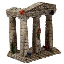 AEX Dekorácia akváriová Zrúcanina chrámu 15,5x9,5x16,2cm