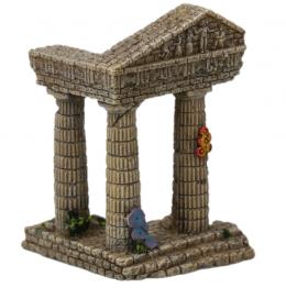 AEX Dekorácia akváriová Zrúcanina chrámu 7,5x6,8x9,7cm