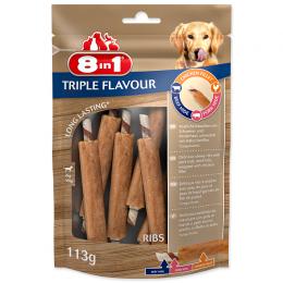 Rebierko žuvacie Triple Flavour 6ks