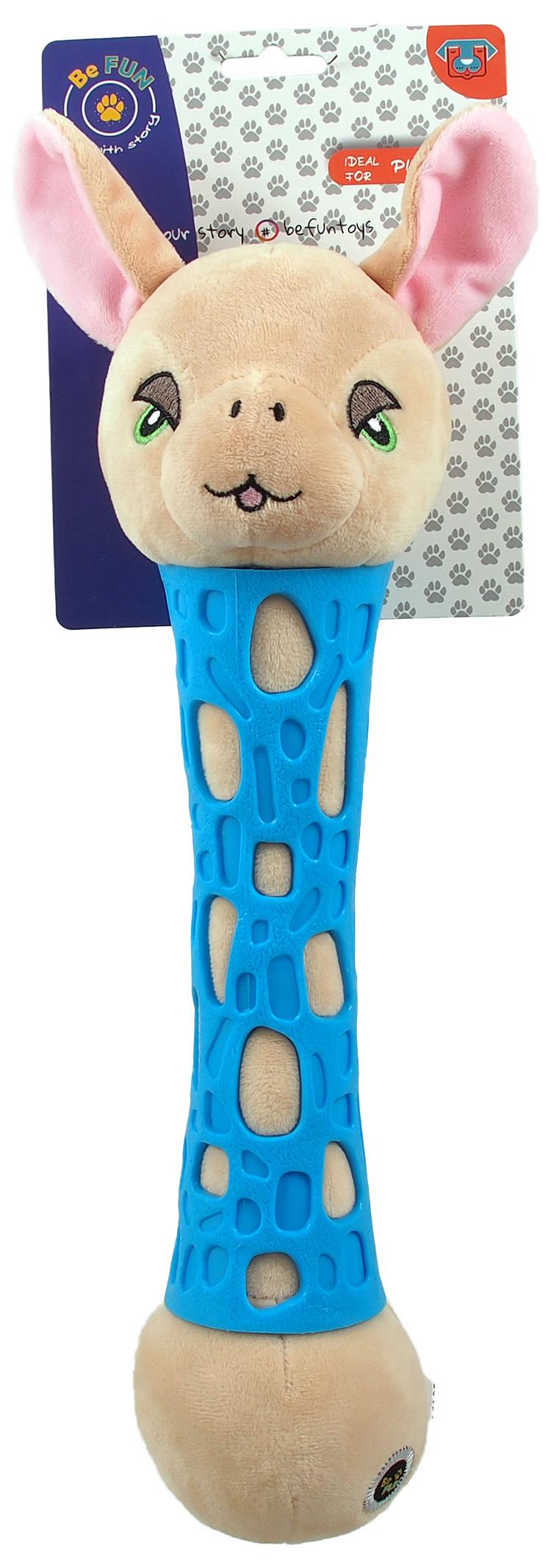 BeFun hračka TPR plyšová ovečka 37 cm