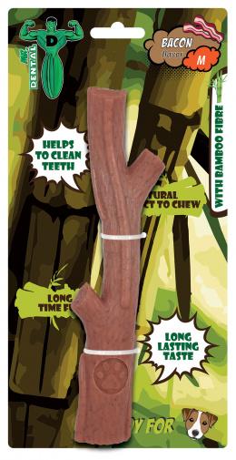Hračka žuvacia  Mr. Dental Bambone palička slanina M