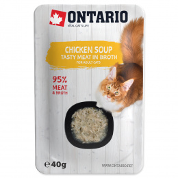 Ontario Cat Soup Chicken with vegetables 40 g
