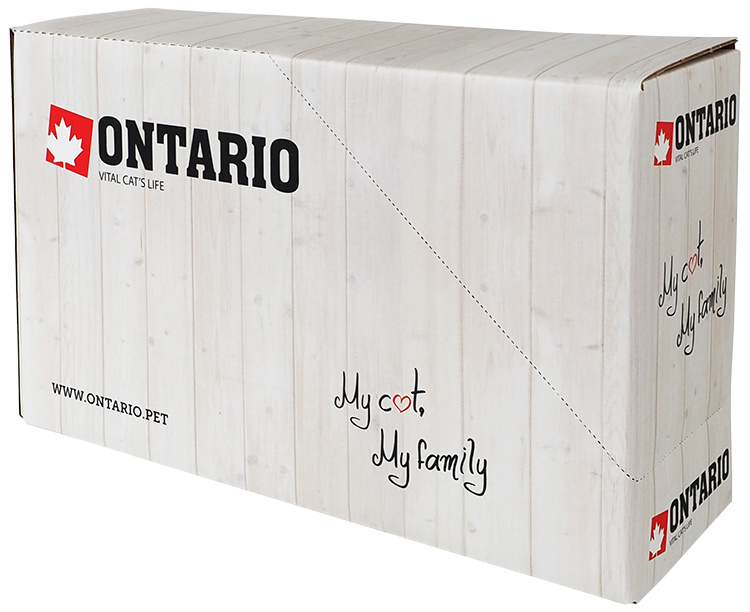 Ontario mäsová pasta pra mačky lamb fresh meat paste 90 g
