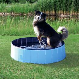 Bazén pre psy 120x30cm, svetlo modrý