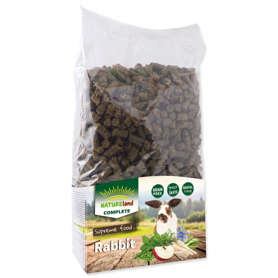 Krmivo Nature Land Complete granule pre zakrpatené králiky 1,7 kg