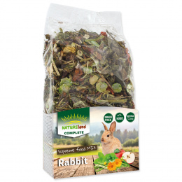 Krmivo Nature Land Complete zmes pre zakrpatené králiky 600 g