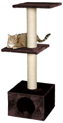 Magic Cat škrabadlo Alexia 34,5x34,5x104cm hnedé