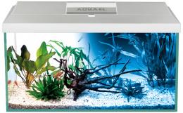 Akvárium set LEDDY PLUS D&N LED 41x25x25 cm 25 l biele