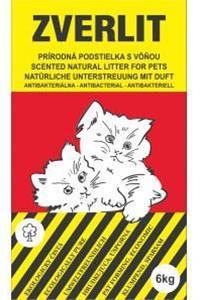 Zverlit podstieľka pre mačky hrubá s vôňou 6 kg