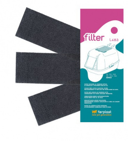 FP Filter uhlikovy do toalety 3ks L483