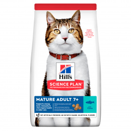 Hill´s Science Plan Feline Mature Adult 7+  Tuna 10kg