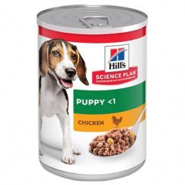 Konzerva HILL'S Science Plan Canine Puppy Healthy Development Chicken 370g