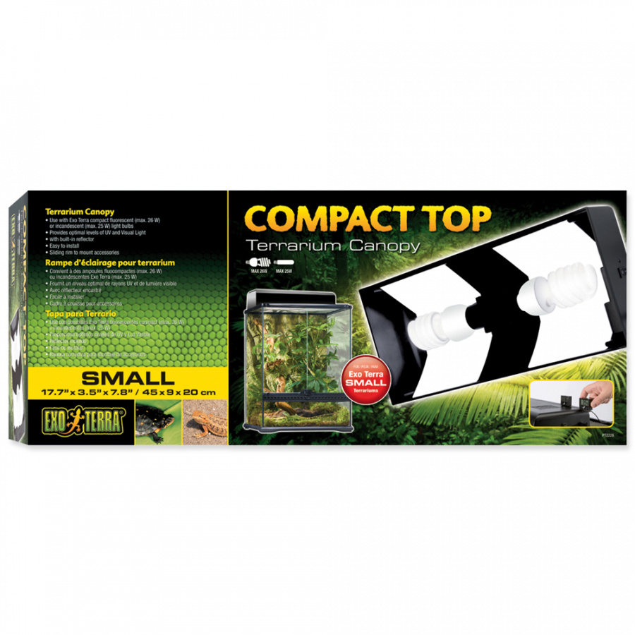 ExoTerra Compact Top 45x9x20cm osv.