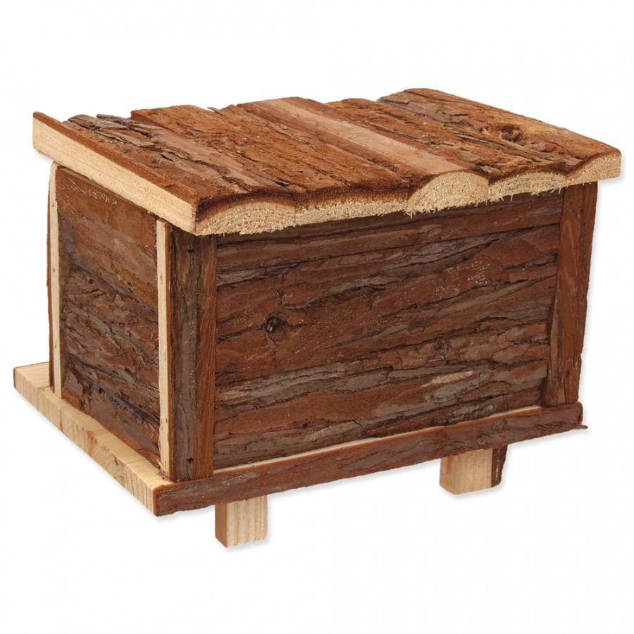 Domcek SA Srub dreveny s korou 18x13x13,5cm
