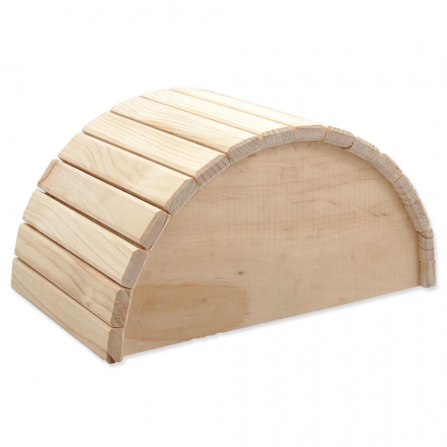 Small Animals domček polkruh drevený 31 x 20 x 15,5 cm
