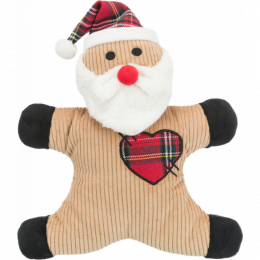 Hračka Xmas Santa/snehuliak plyš 29 cm mix