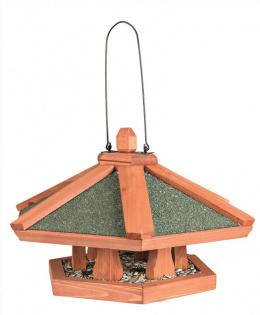 Kŕmidlo natura bird závesné, borovica 42×24 cm hnedé