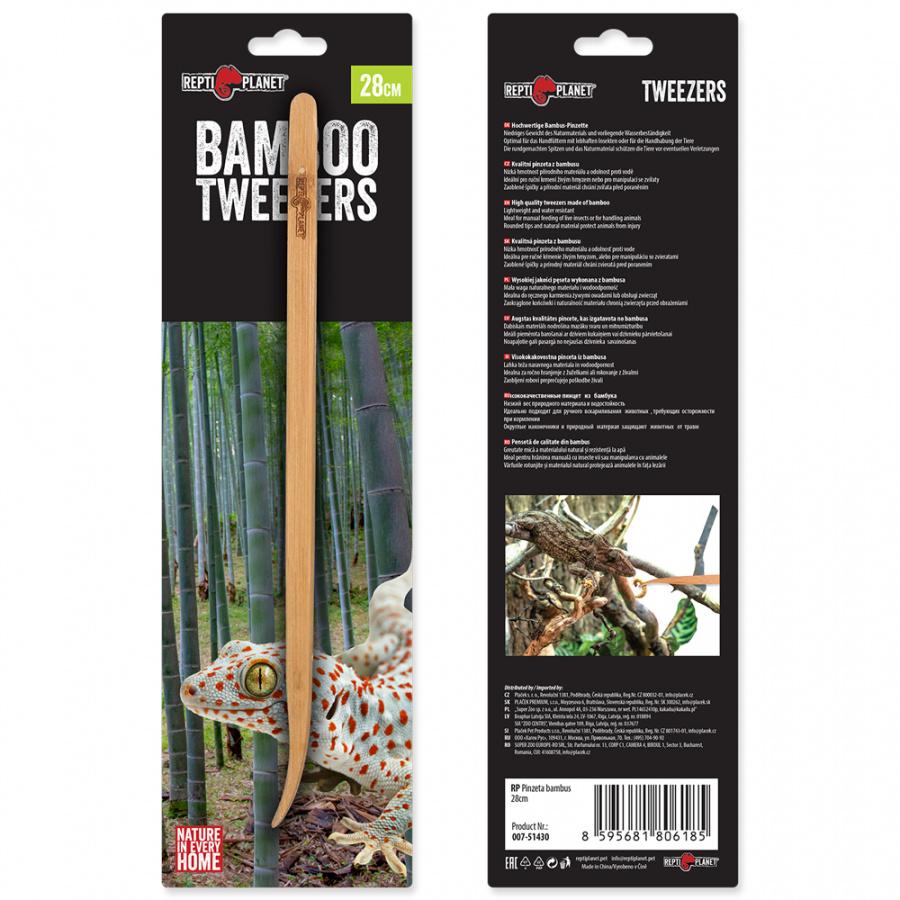 Repti Planet Pinzeta bambus 28 cm