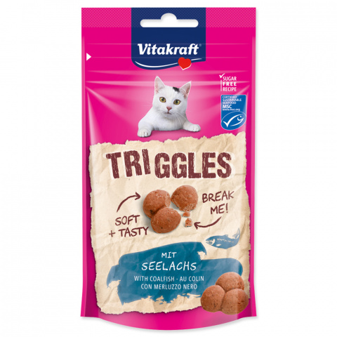 Vitakraft Triggles pochúťka s lososom 40 g title=