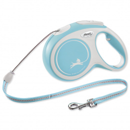 Flexi vôdzka New Comfort lanko M 8m svetlo modrá