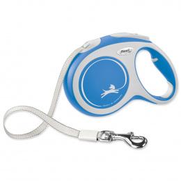 Flexi vôdzka New Comfort páska L 5 m modrá