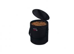 TRIXIE Kontajner látkovy na krmivo, do 10kg suchého krmiva, čierny