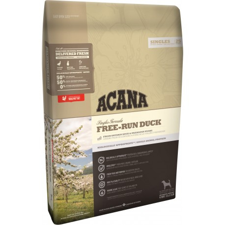 Acana Singles Free-Run Duck 11,4 kg title=
