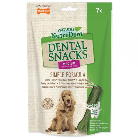 Nutri Dent pochúťka Dental Snacks Medium 7 ks title=