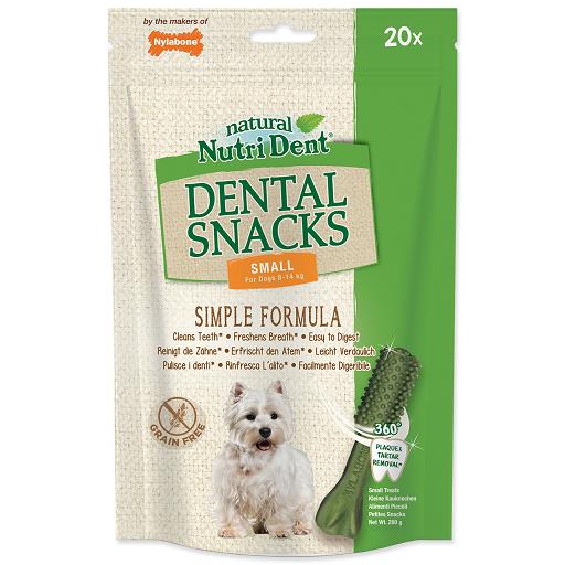 Nutri Dent pochúťka Dental Snacks Small 20 ks