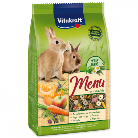 VITAKRAFT Menu Vital Rabbit 3kg title=