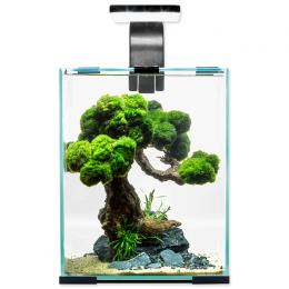 AQUAEL Akvarium set Shr. Smart DN 20x20x25cm, 10l čierne