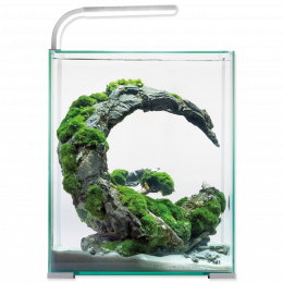 AQUAEL Akvarium set Shr. Smart DN 29x29x35cm, 30l biele
