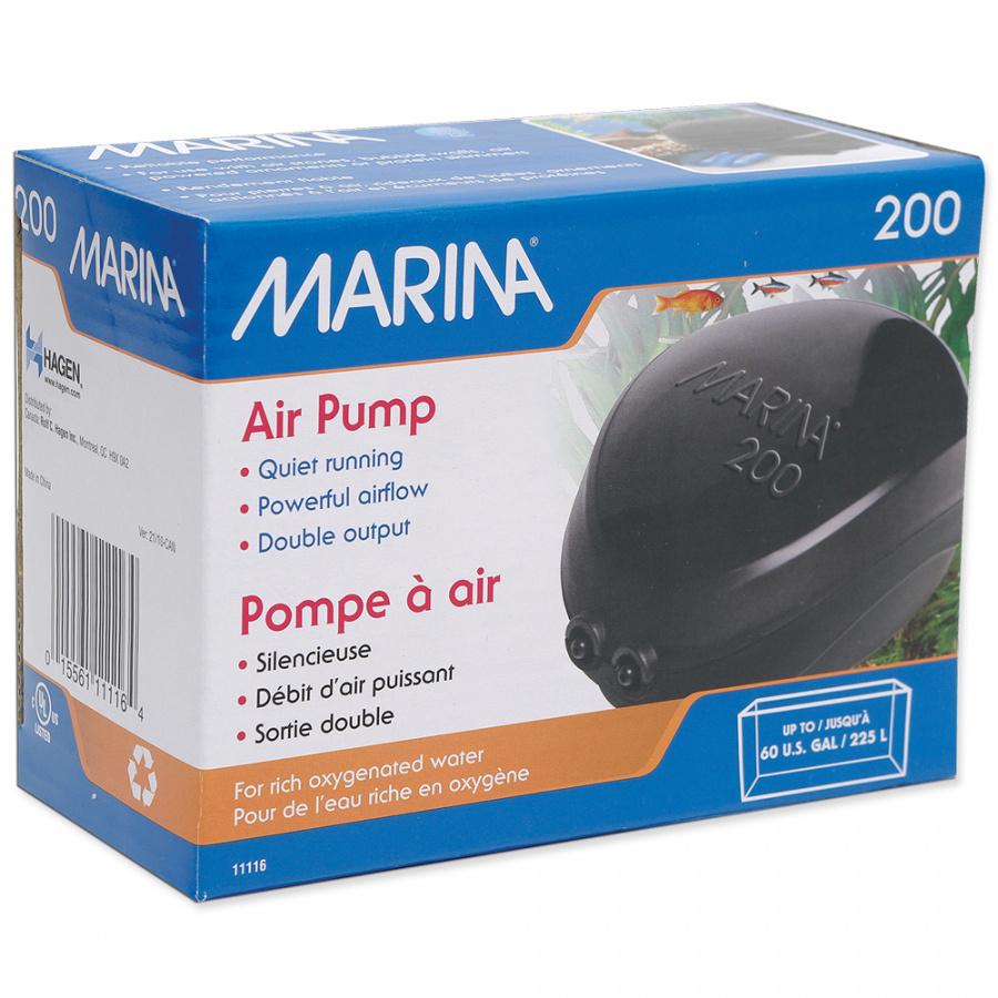 Kompresor MARINA200,2x110l/h125-225