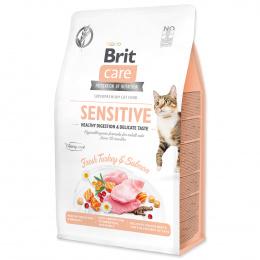 Brit Care Cat Grain-Free Sensitive Healthy Digestion & Delicate Taste, 0,4 kg