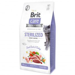 Brit Care Cat Grain-Free Sterilized Weight Control, 7 kg