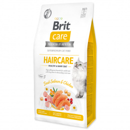 Brit Care Cat Grain-Free Haircare Healthy & Shiny Coat, 7 kg