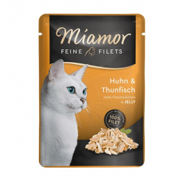 Kaps.Miamor Filet kura a tuniak 100g