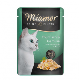 Kaps.Miamor Filet tuniak a zelen.100g