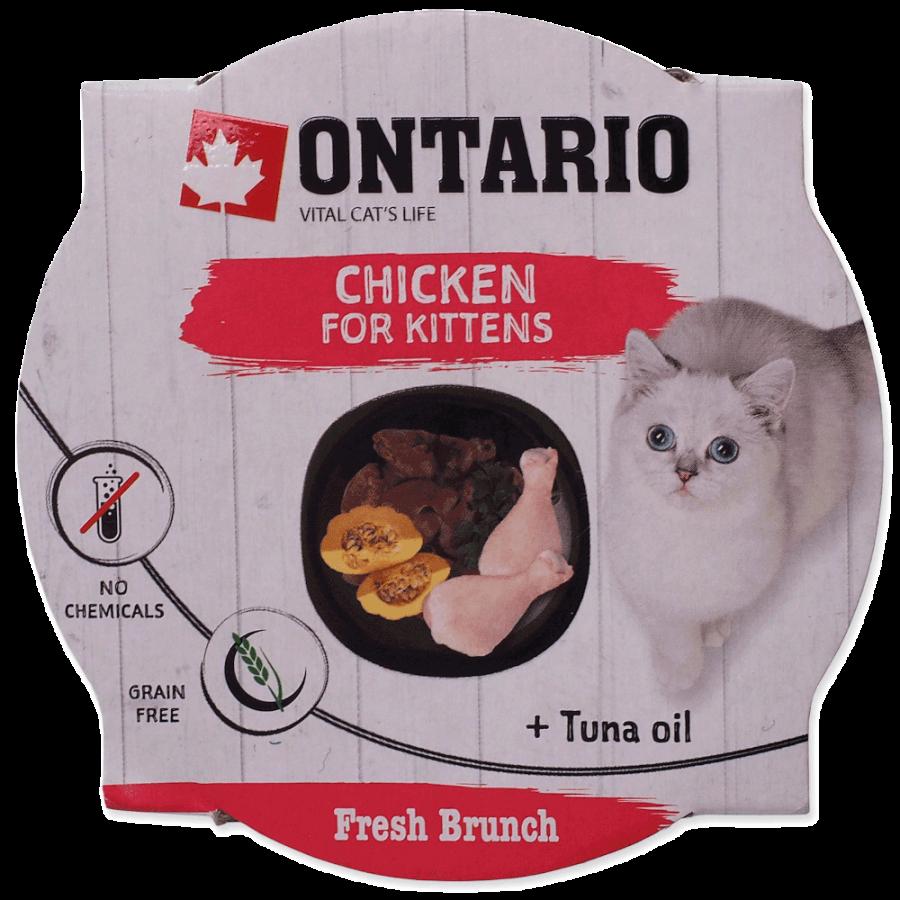 Ontario Fresh Brunch Kitten Chicken 80 g