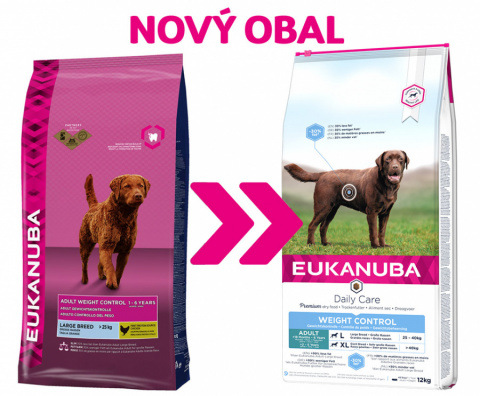 Euk Adult Large Weight Control 3kg