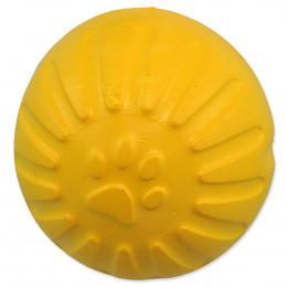 Dog Fantasy hračka EVA loptička 7 cm žltá