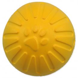 Dog Fantasy hračka EVA loptička 9 cm žltá