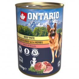 Ontario konzerva mleté hovädzie s príchuťou bylín 400g
