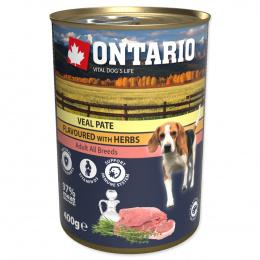 Ontario konzerva mleté teľacie s príchuťou bylín 400g