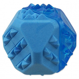 Dog Fantasy chladiaca loptička modrá 7,7cm