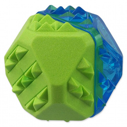 Dog Fantasy chladiaca loptička zeleno-modrá 7,7 cm