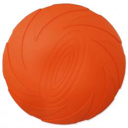 Dog Fantasy lietajúci tanier plávajúci oranžový 15cm
